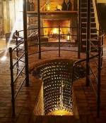 Mooie wijnkelder