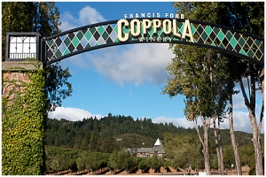 Francis Ford Coppola wijngoed Californië