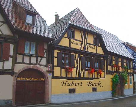 Hubert Beck Pinot Blanc AC Cigognes